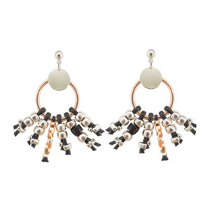 Hunter Black Earrings - statement earrings - spring 2019 - summer 2019 - Manola Jewelry