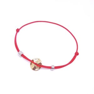 Magique Red Bracelet - lucky string bracelet - red string bracelet - lucky bracelet - Manola jewelry