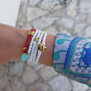 How to wear fashion bracelets - summer bracelets - bangle bracelets - Manola jewelry