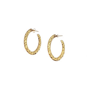 Classy earrings - hoop earrings 2020 - gold hoop earrings - statement gold earrings - Manola jewelry