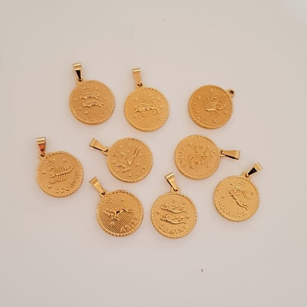 zodiac jewelry for 2021 - zodiac necklaces - gold astro jewelry - Manola jewelry