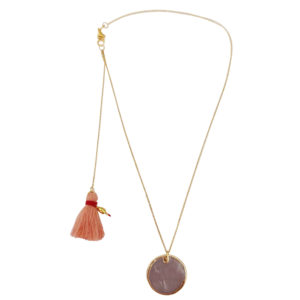 I'm Yours Necklace - gold chain necklace - casual necklace - shell necklace - nakit za plazu - Manola jewelry