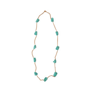 Andros Necklace - mediterranean necklace - turquoise necklace - Manola jewelry