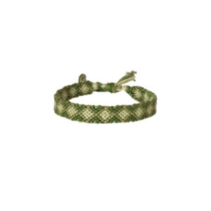 Calm The Spirit Bracelet - braided bracelets - green bracelets - friendship bracelets - Manola jewelry