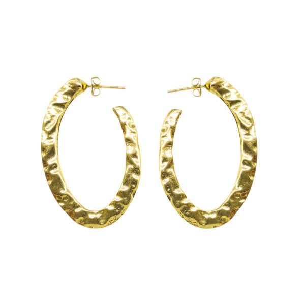 Classy Earrings - hoop earrings - 2019 earrings - chic earrings - gold hoop earrings - Manola jewelry