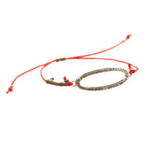 Balmy Bracelet - crystal bracelet - red string - red bracelet - red fashion accessories - crystal jewelry