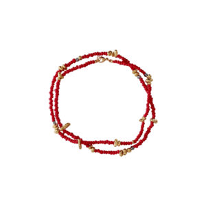 Make A Wish Necklace - coral necklace - coral jewelry - manola jewelry