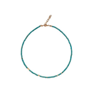 Ocean Drive Necklace - turquoise necklace - manola jewelry