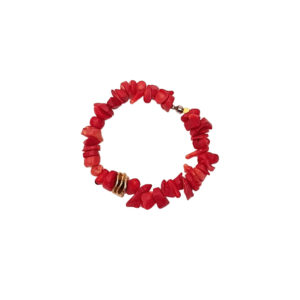 Questione Di Cuore Bracelet - red coral bracelet - coral jewelry - Manola jewelry