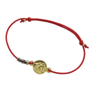 Tender Red Bracelet - angel charm jewelry - angel charm bracelet - lucky bracelet - red string bracelet - Manola jewelry