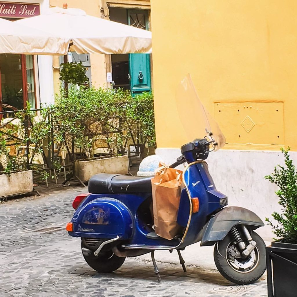 Walking Rome - Rome Italy - Rome Tour - Streets of Rome - Roman square - Italian style - Italian lifestyle - Vespa