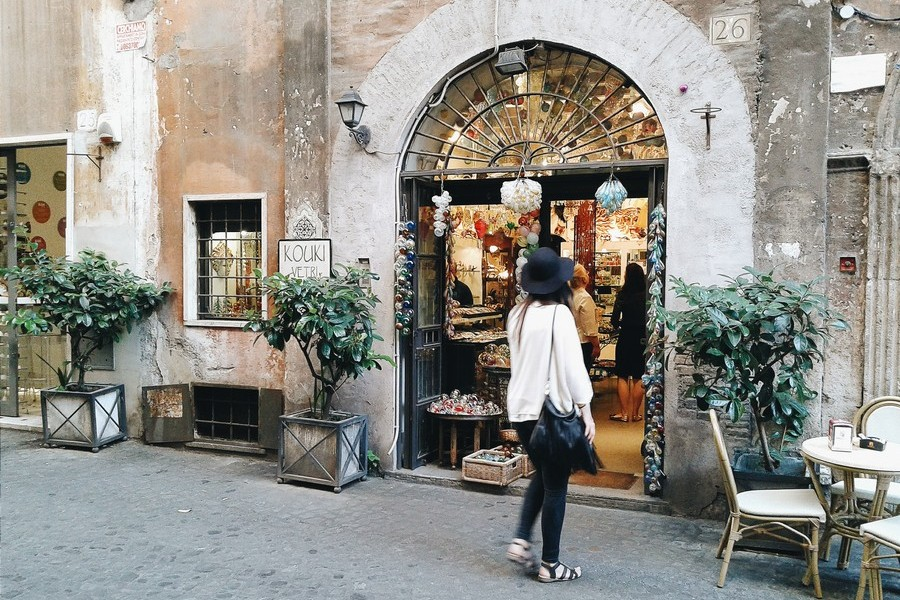 Walking Rome - Travel to Rome - Rome Tour - Travel to Italy - Italian style - Italian lifestyle - Rome, Italy - Roman Architecture