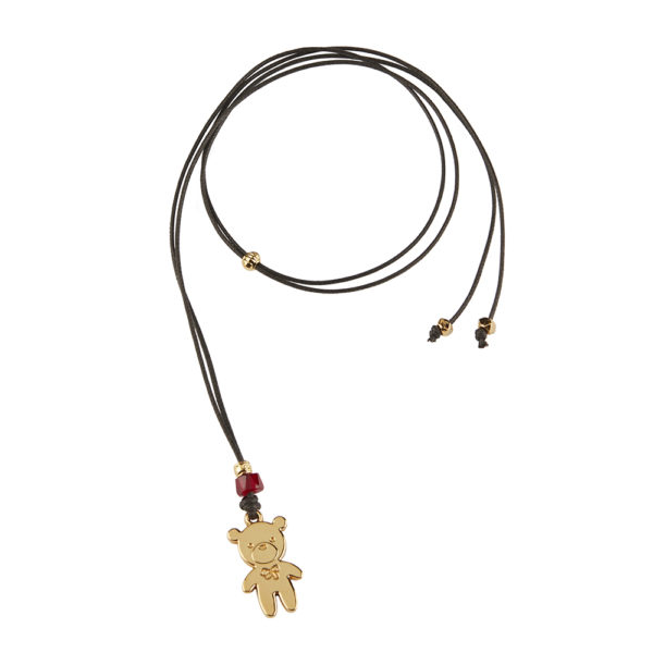 SuperOtto Necklace - bear charm - kids charm - kids necklace - kids jewelry